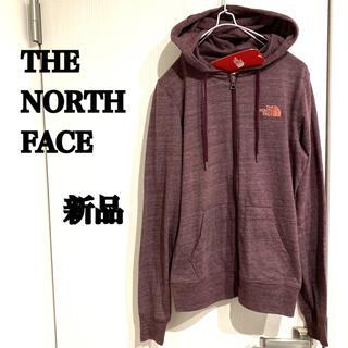 THE NORTH FACE - ノースフェイス 新品 正規品 刺繍ロゴ 薄手パーカー