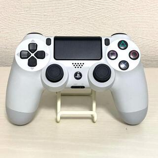 プレイステーション4(PlayStation4)の【中古美品】純正 プレイステーション4 デュアルショック4 ホワイト(その他)