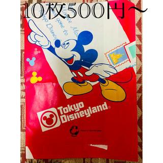 ディズニー(Disney)の【非売品】ディズニーリゾートショップバッグ 各種(ショップ袋)