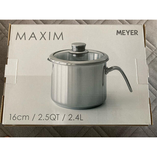 MEYER - マイヤー 片手鍋 シルバー 16cm MXS-PT16