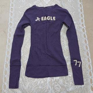 American Eagle - アメリカンイーグル ワッフルシャツ