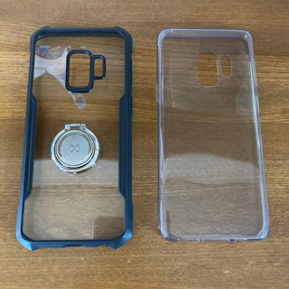 ギャラクシー(Galaxy)のGALAXY S9 スマホケース ギャラクシー リングホルダー付き(Androidケース)