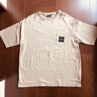ワイルドシングス(WILDTHINGS)のワイルドシングス WILD THINGS ベージュTシャツ(Tシャツ/カットソー(半袖/袖なし))