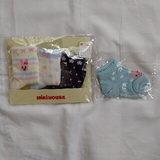 mikihouse - ミキハウス 靴下 11~13 4足セット