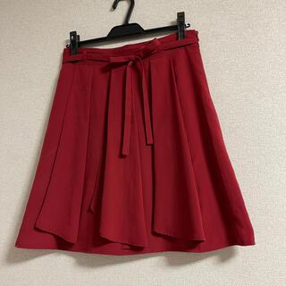 エマジェイム(EMMAJAMES)のEMMAJAMES 真赤なスカート (ひざ丈スカート)
