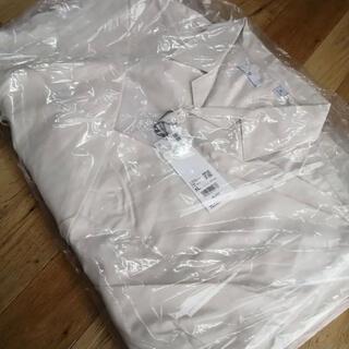 UNIQLO - UNIQLO+J スーピマコットンオーバーサイズシャツブルゾン ナチュラル XL