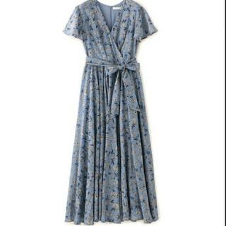 IENA - MARIHA マリハ マドモアゼルのドレス(フラワープリント)