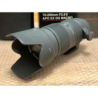 シグマ(SIGMA)のSIGMA 70-200mm F2.8 Ⅱ APO EX DG(レンズ(ズーム))