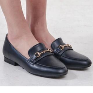 オリエンタルトラフィック(ORiental TRaffic)のORiental TRaffic◆ビットローファー/35/Sサイズ/ブラック(ローファー/革靴)