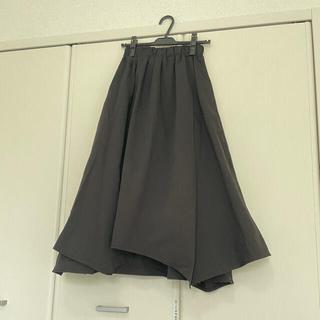antiqua - 値下げ!antiqua アシメロングスカート 黒
