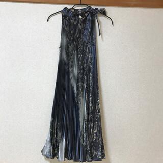 新品タグ付き ドレス イタリア製(ロングドレス)