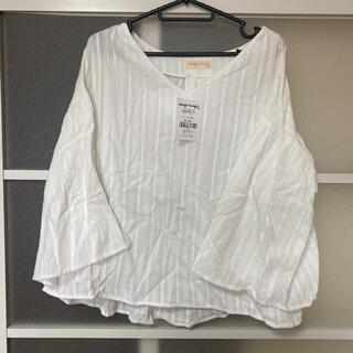 アナップミンピ(anap mimpi)の新品未使用タグ付き⭐︎袖フレアシャツ(シャツ/ブラウス(長袖/七分))