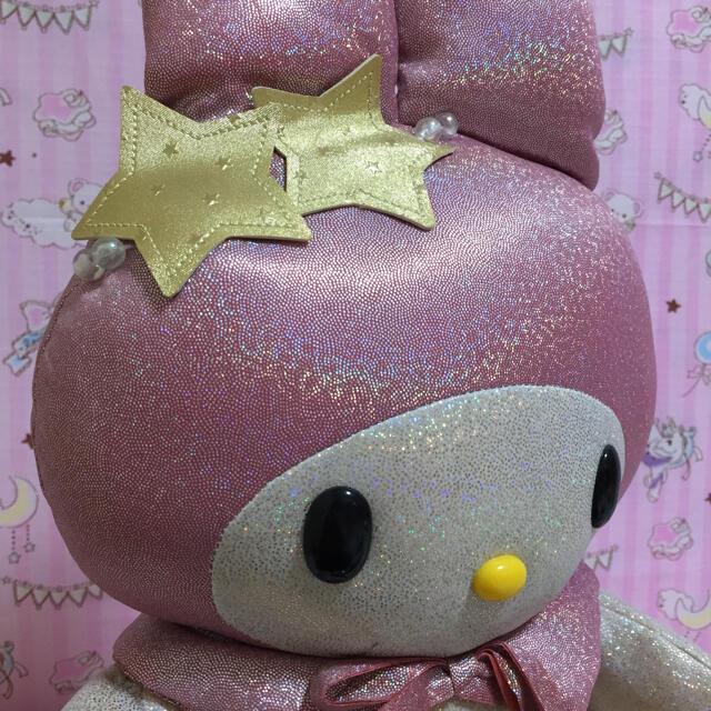 マイメロディ(マイメロディ)のサンリオ  マイメロディ  マイメロ ぬいぐるみ レトロ ヴィンテージ 01年製 エンタメ/ホビーのおもちゃ/ぬいぐるみ(ぬいぐるみ)の商品写真