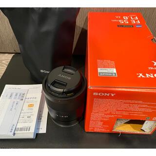 ソニー(SONY)の【美品】Sony sonnar T* FE55mmF1.8ZA(レンズ(単焦点))