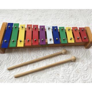 ヴィラック(vilac)の鉄琴 シロフォン vilac ヴィラック(楽器のおもちゃ)