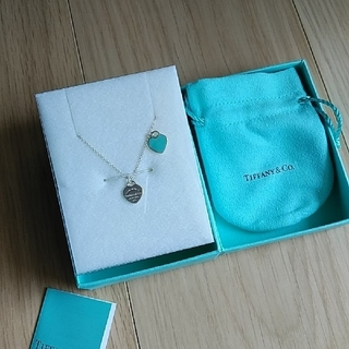 ティファニー(Tiffany & Co.)のティファニー ダブルハート ネックレス(ネックレス)