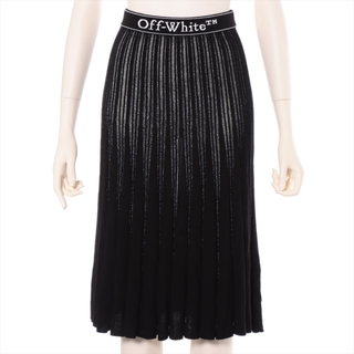 OFF-WHITE - オフホワイト  ビスコース 40 ブラック レディース スカート
