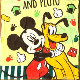 ミッキーマウス - ミッキーandプルート バスタオル