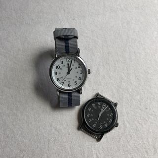 TIMEX - TIMEX    ウィークエンダー38㎜ ホワイト/ブラック