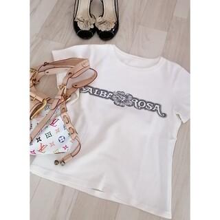 アルバローザ(ALBA ROSA)のアルバローザ Tシャツ トップス 半袖 レディースファッション 半袖Tシャツ F(Tシャツ(半袖/袖なし))