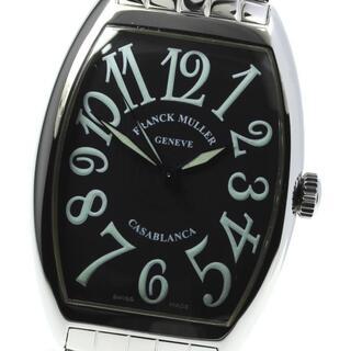 フランクミュラー(FRANCK MULLER)の☆美品 フランクミュラー カサブランカ  6850 自動巻き メンズ 【中古】(腕時計(アナログ))