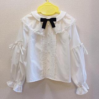 ロディスポット(LODISPOTTO)のmille fille closet  MyDollパフブラウス(シャツ/ブラウス(長袖/七分))