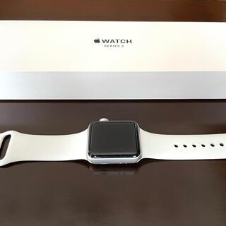 Apple Watch - Apple Watch Series3 38mm バッテリーヘルス98%