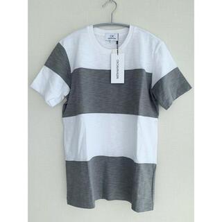 シーケーカルバンクライン(ck Calvin Klein)の新品未使用 カルバンクライン ボーダーTシャツ(Tシャツ/カットソー(半袖/袖なし))