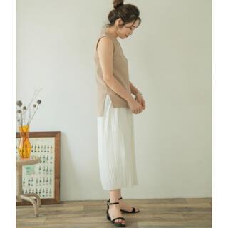 アーバンリサーチ(URBAN RESEARCH)のプリーツスカート(ロングスカート)