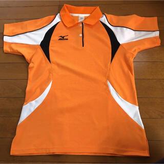 ミズノ(MIZUNO)のポロシャツ プラシャツ  ミズノ Mサイズ(ポロシャツ)
