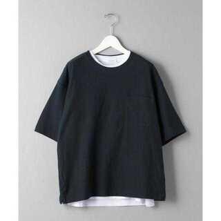 ビューティアンドユースユナイテッドアローズ(BEAUTY&YOUTH UNITED ARROWS)のBY レイヤード インレイ Tシャツ&ノースリーブ(Tシャツ/カットソー(半袖/袖なし))