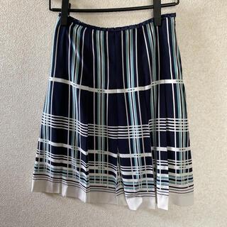 エムエフエディトリアル(m.f.editorial)の【m.f.editorial】プリーツの入ったスカート(ひざ丈スカート)