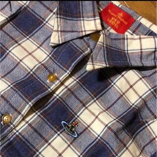 ヴィヴィアンウエストウッド(Vivienne Westwood)のヴィヴィアンウエストウッド チェックシャツ レディース(シャツ/ブラウス(長袖/七分))
