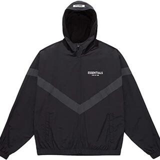 フィアオブゴッド(FEAR OF GOD)の未使用 FOG エッセンシャルズ Zip Anorak Jacket 黒 L(ナイロンジャケット)