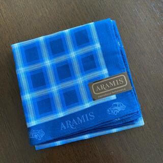 アラミス(Aramis)のアラミスハンカチメンズ新品‼️(ハンカチ/ポケットチーフ)