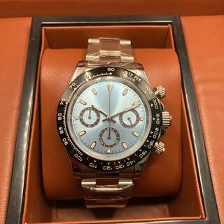 セイコー(SEIKO)の腕時計 クロノグラフ アイスブルー文字盤(腕時計(アナログ))