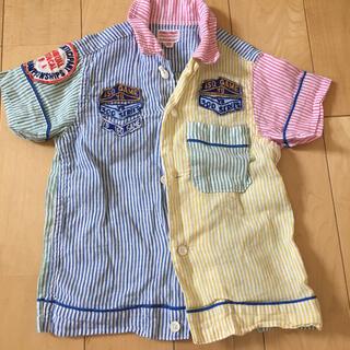 デニムダンガリー(DENIM DUNGAREE)のボーリングシャツ90〜100♡(ブラウス)