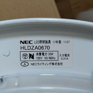 エヌイーシー(NEC)のNECシーリングライト 2017年製(天井照明)