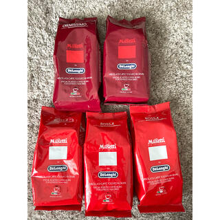 【2種5つセット】デロンギ コーヒー 豆