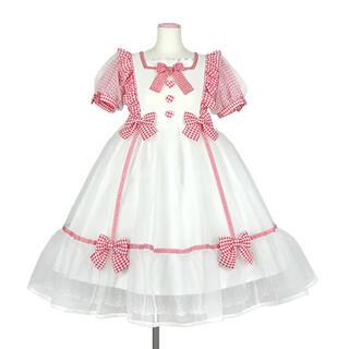 Angelic Pretty - パフェワンピース 白