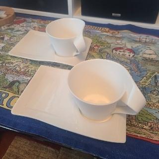 ビレロイアンドボッホ(ビレロイ&ボッホ)のvilleroy&Boch ペアマグカップ&プレート(グラス/カップ)