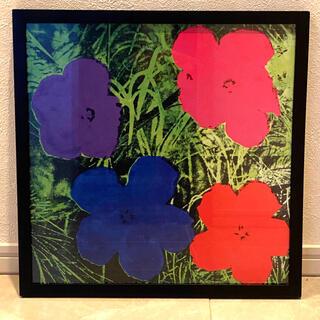 アンディウォーホル(Andy Warhol)のANDY WARHOL アンディ・ウォーホル Flower 額入りアートポスター(絵画/タペストリー)