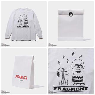 フラグメント(FRAGMENT)のFRAGMENT × PEANUTS THE CONVENI ロングTシャツ(Tシャツ/カットソー(七分/長袖))