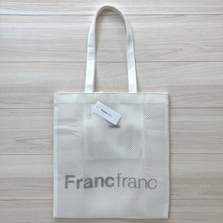Francfranc - Francfranc  ロゴトートバック メッシュ