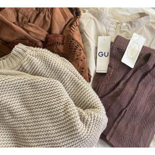 ジーユー(GU)の淡色系 3ブランドまとめ売り(セット/コーデ)