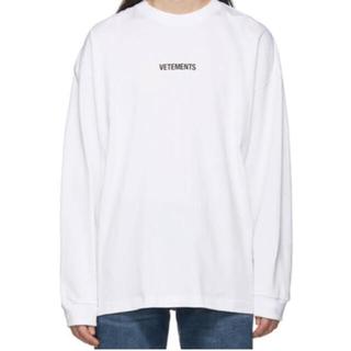 バレンシアガ(Balenciaga)のヴェトモン ロングTシャツ(Tシャツ/カットソー(七分/長袖))