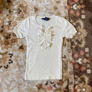 POLO RALPH LAUREN - ラルフローレン リブ フリルカットソー 半袖Tシャツサイズ6X 130㎝ 女の子