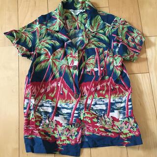 デニムダンガリー(DENIM DUNGAREE)のアロハシャツ120♡(ブラウス)