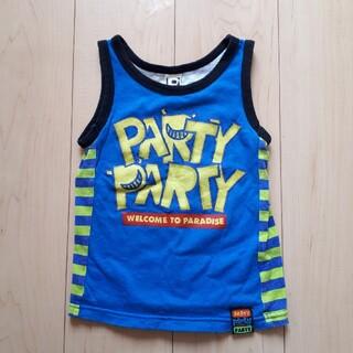 パーティーパーティー(PARTYPARTY)のPARTY PARTY☆青タンクトップ110(Tシャツ/カットソー)