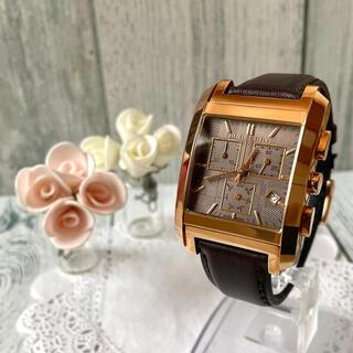 BURBERRY - 【希少】BURBERRY バーバリー 腕時計 クロノグラフ スクエア